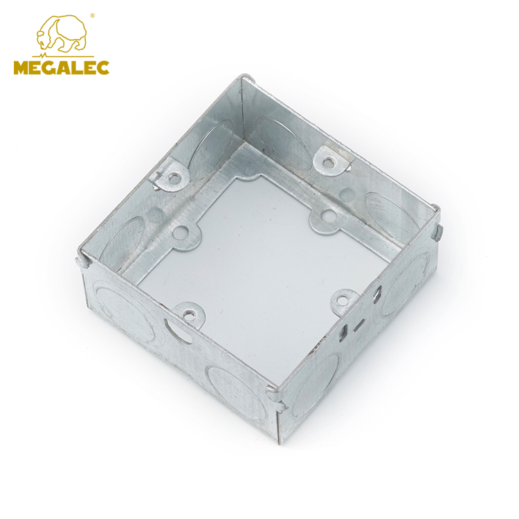 China Manufacturer Customized IP65 Square Industrial Metal Box