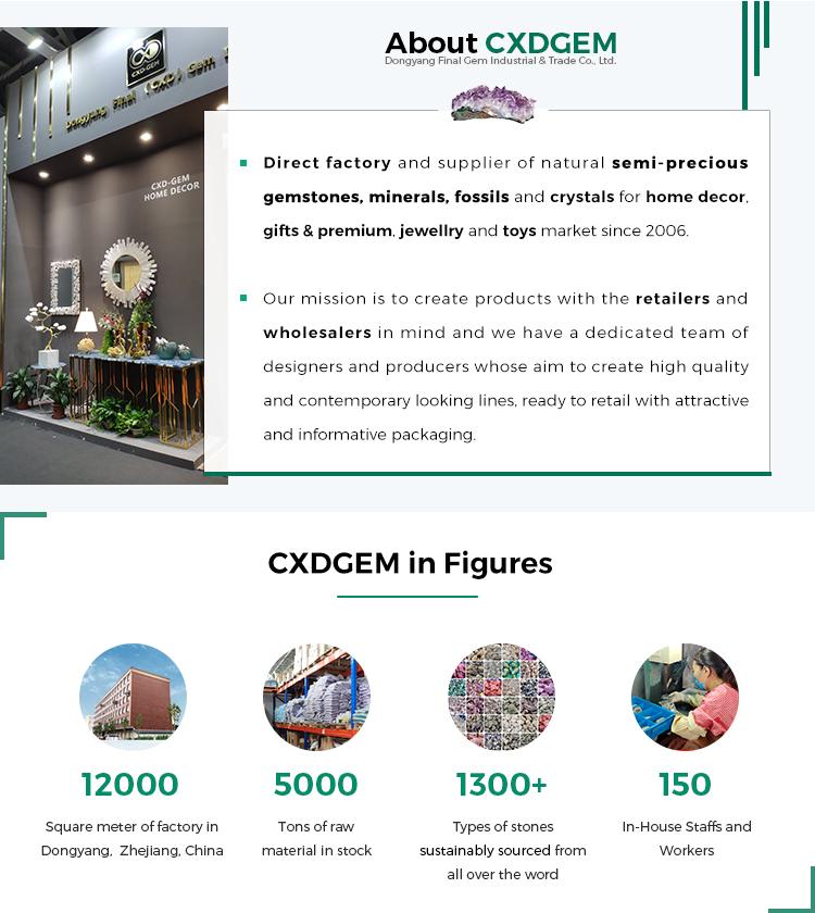 CXDGEM B20201008 Pedra Preciosa de Cristal Polvo Faceta Sodalita Polido Modern Home Decor