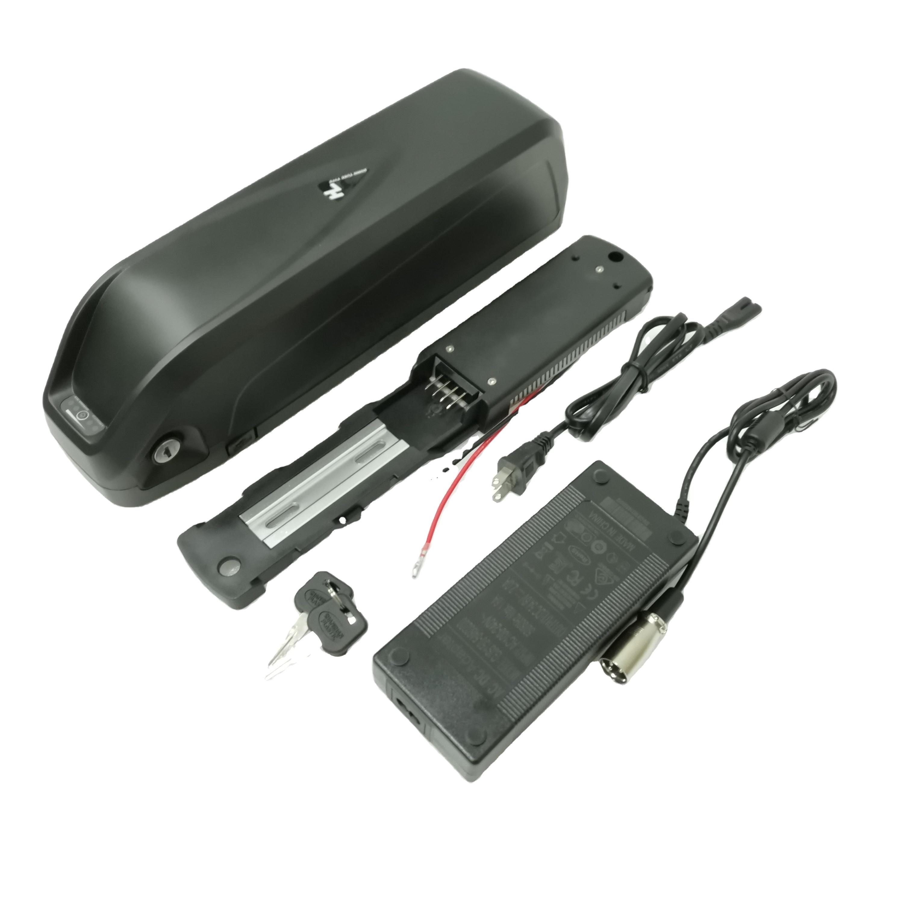 48v18ah 1000w hailong downtube mounted battery 48v 20ah electric bike battery lithium ion battery pack