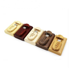 OEM Wedding Gift Wooden USB Flash Drive with Box Pendrive Memory Stick 4GB 8GB 16GB