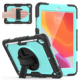 "Tablet Case For IPad 10.2"" Built In Screen Protector Full Protective Heavy Duty With Kicksstand Shoulder Strap For Ipad 10.2 """