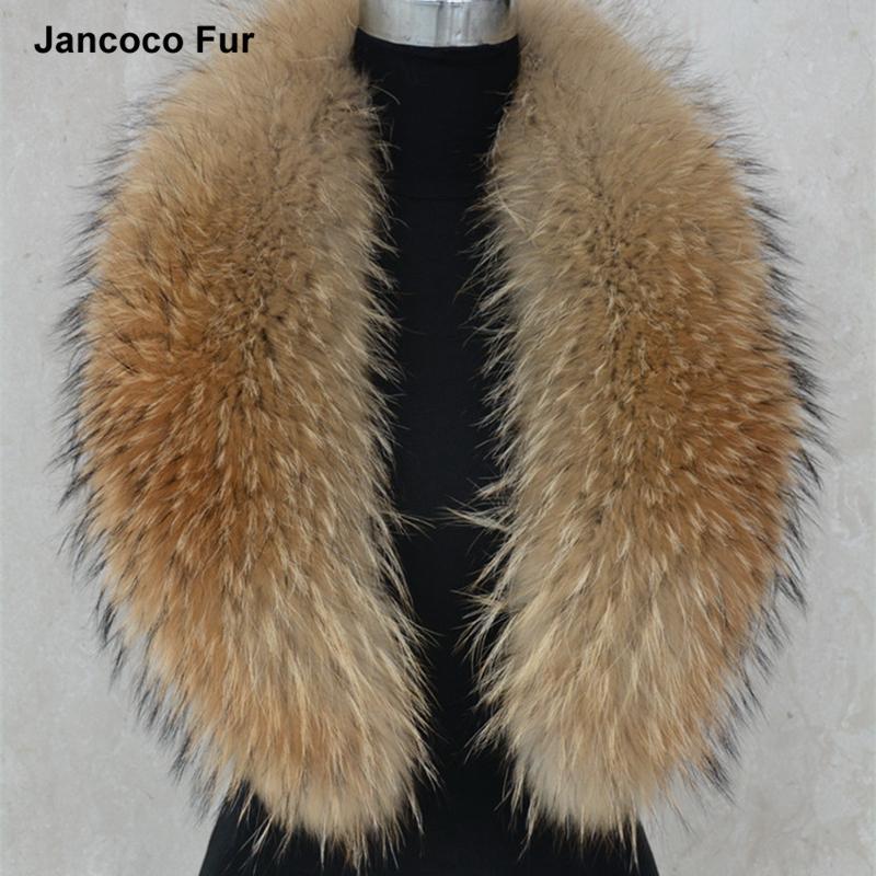 75 см/80/90/100/110 см, с воротником из натурального меха енота, для женщин и мужчин, куртка модный теплый шарф, зимний пуховик с капюшоном, S1288