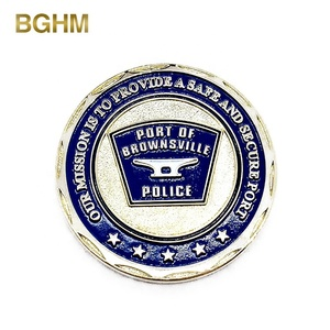 Factory Price Metal Copper Stamping Dies Custom Challenge Coins with Logo for secure port