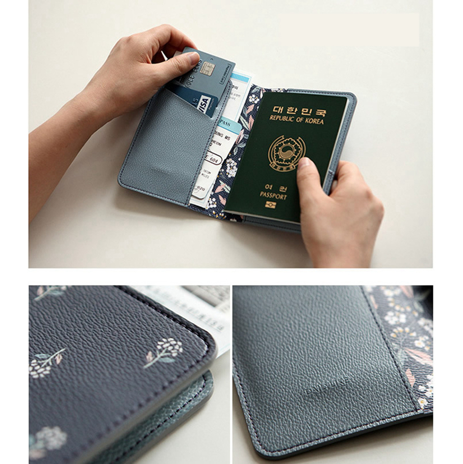 product-GF bags-Flamingo Passport Covers Travel Accessories Creative PU Leather ID Bank Card Bag Men-1