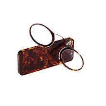 IENJOY зажим для носа ридер очки для чтения TR высокое качество мужские очки для чтения Портативный кошелек дальнозоркости очки с Чехол(Китай)