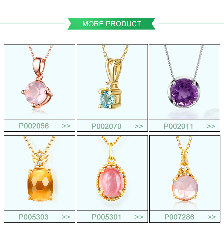 wholesale Powder crystal gemstone pendants 925 sterling silver pendants handmade jewelry