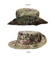 Cotton/Nylon Multicam Camo Military Army Combat Boonie Cap / Hat