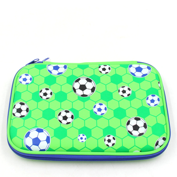 Multifunction Fashion Stationery Zipper Smiggle soccer pencil case
