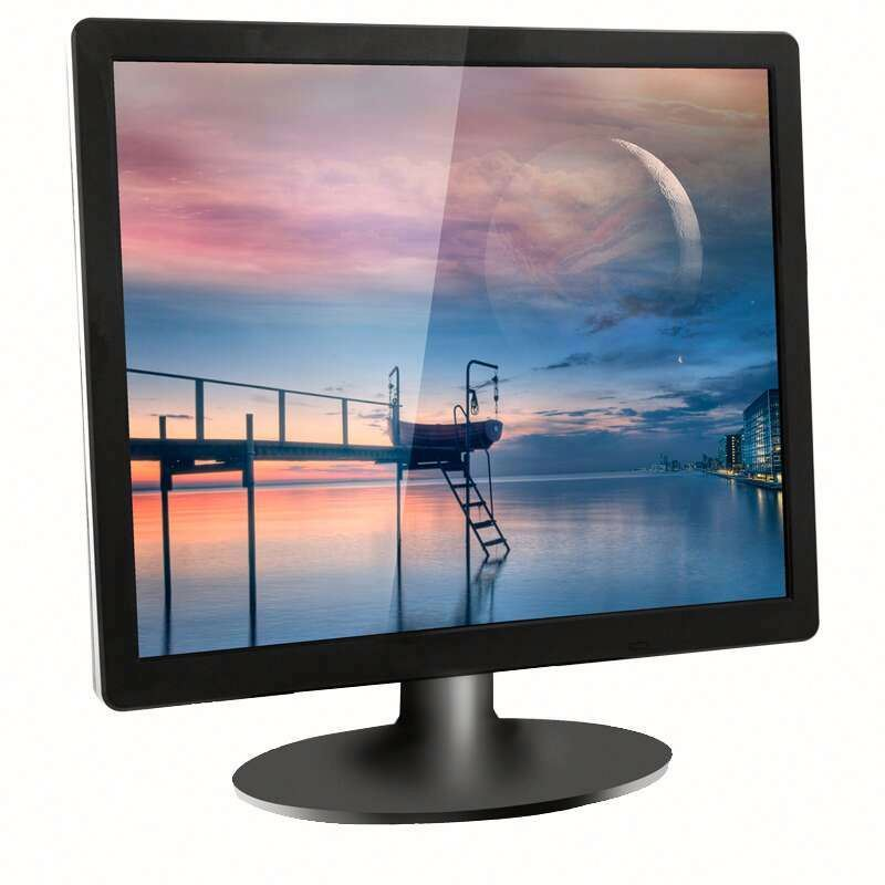 lcd monitor with led light 19 inch hd-mi 12v dc lcd monitor