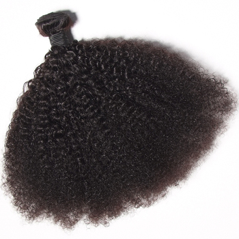 Cheap vendor remy afro human weave bundles virgin raw mongolian kinky curly hair