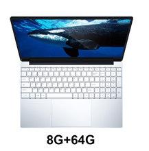 15,6-дюймовый игровой ноутбук с клавиатурой с подсветкой 8 ГБ ОЗУ 1 ТБ 512 ГБ 256 ГБ 128 Гб SSD ROM Ноутбук Win10 Pro Intel J3455 ультрабук(Китай)