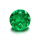 Wholesale certified loose emerald gemstones lab grown hydrothermal emerald
