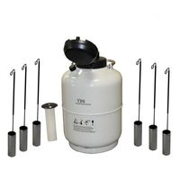 Transportable Lab Biological Liquid Nitrogen Dewar/liquid Nitrogen Cryogenic Tank