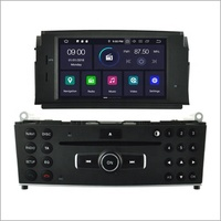 Plug&play android car navigation system 2G RAM touch screen car stereo for MERCEDES-BENZ C CLASS W204 C200