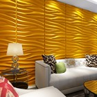 Home Decoration Interior Decorative 3D PVC Wall Panel