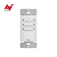 UL Approval Latching Relay Control7 Button Preset Countdown Timer Switch