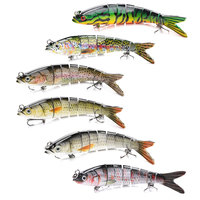 Big Game Shad Jointed Lures Swimbait Pesca Fishing Wobblers Floating and Sinking Bait Fishing Lure