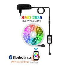Светодиодная лента с usb-питанием, Wi-Fi, 5050 2835 водонепроницаемыми светодиодными лампочками 12V цветных (RGB) светодиодных лент: 5 м 10 м 15 м RGB ленты п...(Китай)
