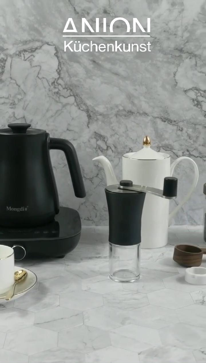최신 수동 커피 그라인더 기계 감속 설정 수동 커피 콩 그라인더