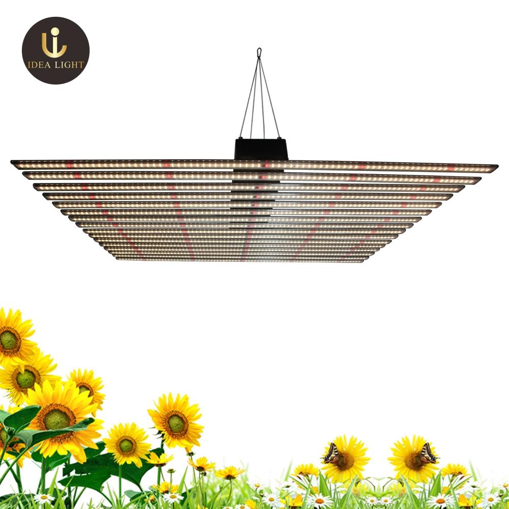 Aluminum 16 bars samsung lm301b led grow light bars fixture for greenhouse