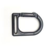 Zinc Alloy Strap Buckle Hook Webbing Belt Clasp Outdoor Rock Climbing Camping Hiking Aerial Yoga