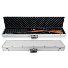 Aluminum soft military Locking Long Spray Rifle Gun Case/safety hard aluminum shot riffle bag gun case with foam