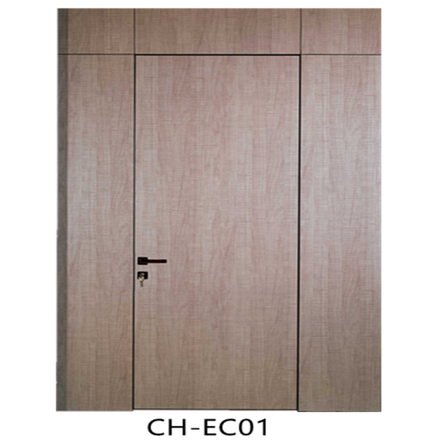 modern flush invisible aluminum and HPL interior <strong>door</strong> design with hidden hinge
