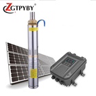 Brushless solar energy powered dc 1kw water pump system