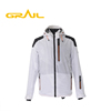 Professional factory fashion printed waterproof men ski coat