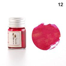 Цветные чернила для фонтанов с 24 солнечными термами, ручка для каллиграфии, письма, рисования, граффити, ночных и ночных LFX-ING(Китай)