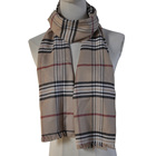 Model Custom New Model Fashion 100%viscose Men Brushed Warm Winter Scarf