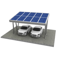 Commercial Solar Energy Aluminum Carport Mounting Systems