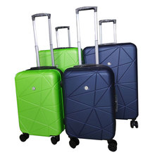 factory custom abs pc hard shell travel trolley bags luggage sets valise suitcase