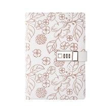 A5 дневник для записей с паролем, ежедневник для ежедневников, ежедневник для ежедневников, ежедневник, корейский блокнот, личные книги для п...(Китай)