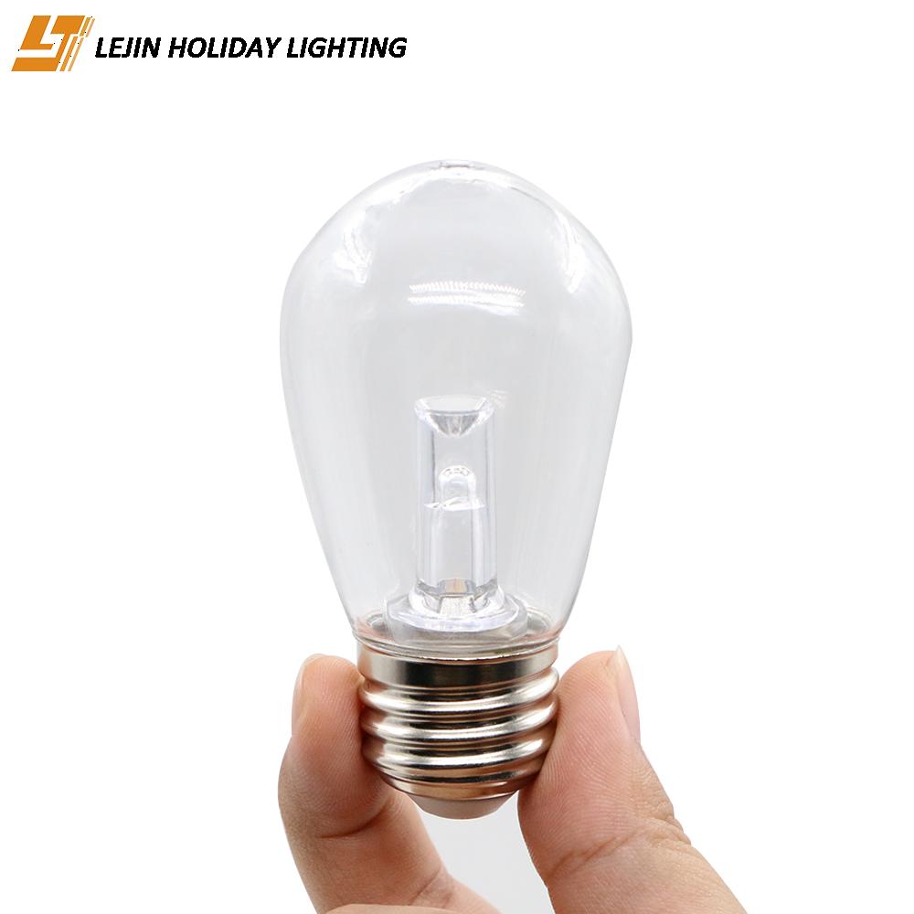 LJ 0.5W S14 LED bulb with e27 impact resistant for decoration light bulb
