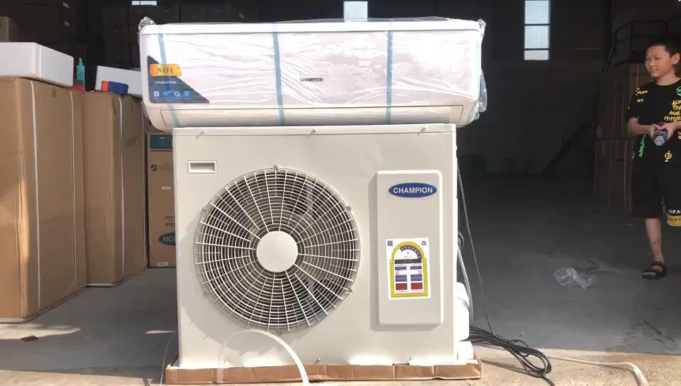 Champion ORIGINALE di marca 36000btu condizionatore d'aria 220V R410a T3 solo raffreddamento di raffreddamento veloce golden fin 4D flusso d'aria