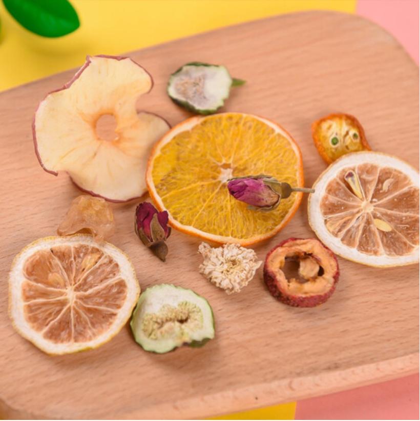Premium fresh big slices fruits tea Mixed dried fruits flower flavor tea - 4uTea | 4uTea.com