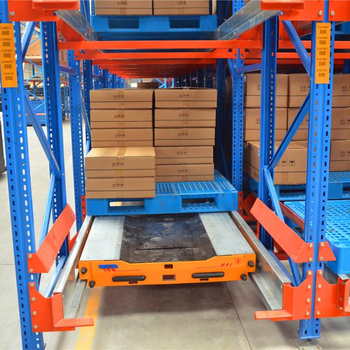Cold Warehouse FIFO & FILO Automatic Radio Shuttle Rack Made In China