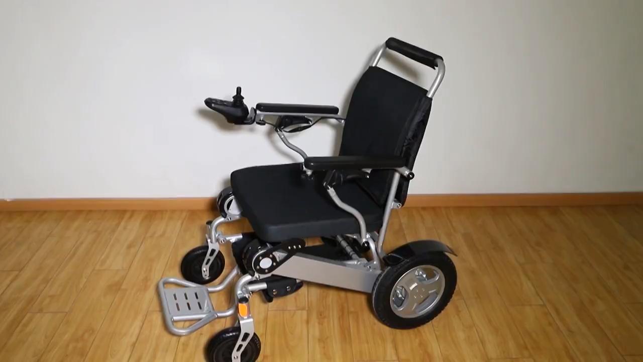 Alimentação ao ar livre mobi elétrica dobrável cadeira de rodas cadeira de rodas para deficientes de cadeira de rodas elétrica