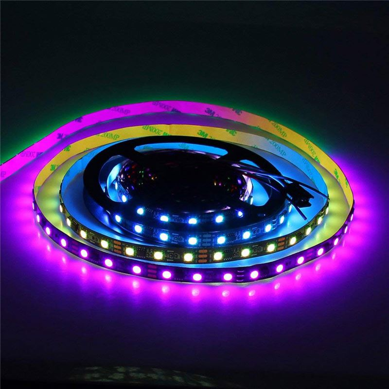 Lampu LED Strip SMD 5050 Ws2811 5 M 450LED WS2811 Addressable Warna Lampu LED Strip 5050 RGB SMD WS2811