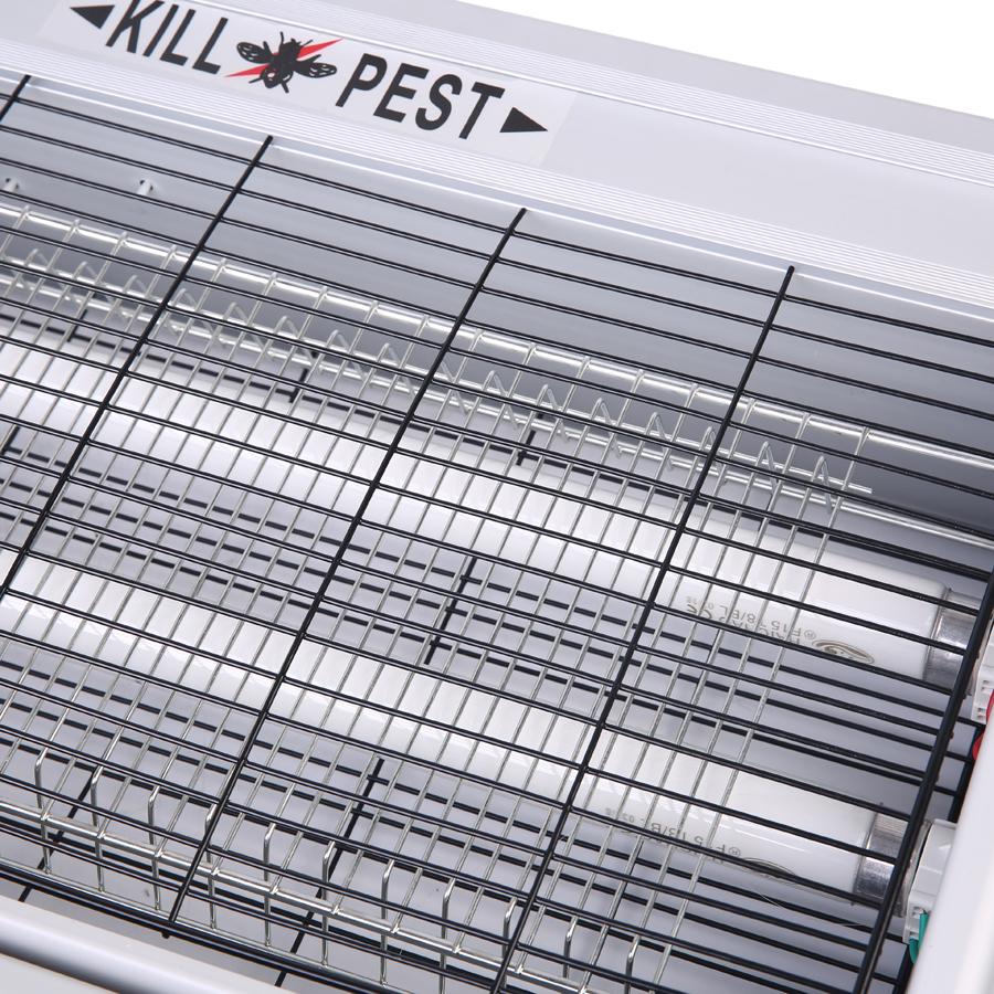 Kiemdodende Elektrische 40 W Aluminium Elektrische Pest Killer, Fly Catcher, Muggenval Voor Restaurant Speciale Gebruik