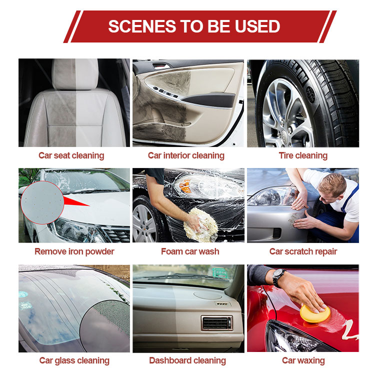 car cleaning Degreaser solutions accesorios para carros auto detailing polish car wash and coating equipment