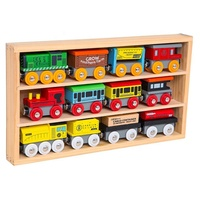 Hot Sale 2018 Kids Wooden Toy Train, Children Wooden Train Toy T160001