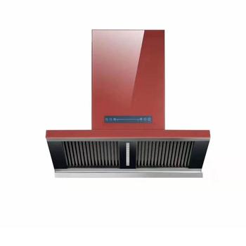 Top Quality Modern Design T Shape Touch Screen Kitchen Range Hood