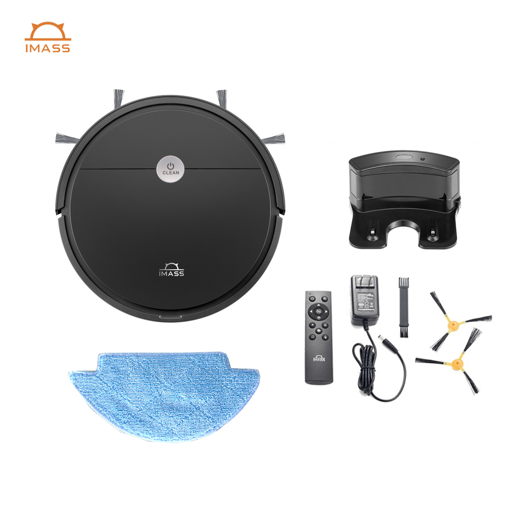 IMASS wireless dust collectorrobotic home robot vacuum cleaner household cleaning appliances robot vacuum wet and dry