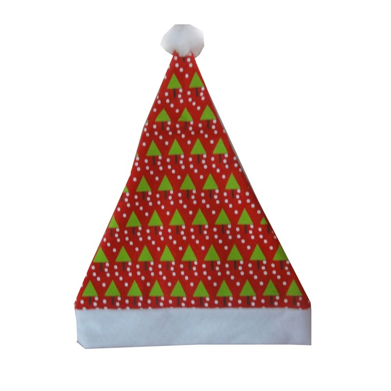 2019 new design light up Knitted baby christmas hat with high quality