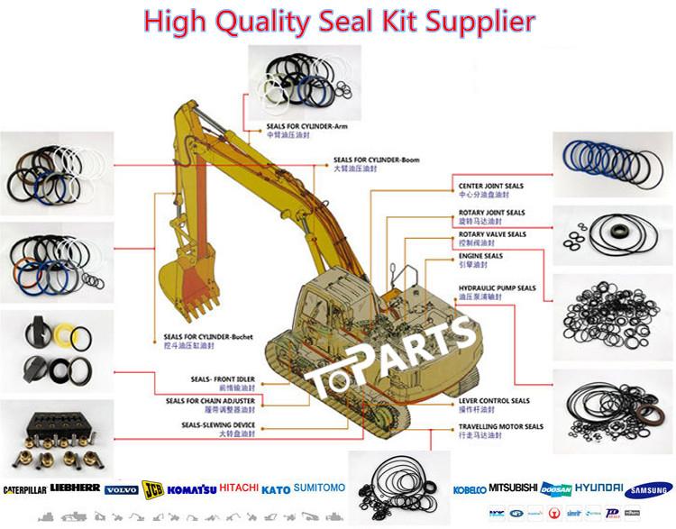 320 320C 320D Excavator TRACK Adjuster Seal Kit