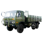 China tractor+truck dongfeng 4*4 6x6 off road army military lorry cargo truck