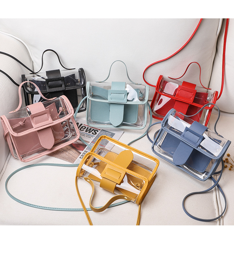 Osgoodway2 Korean style transparent crossbody bag hand bags small handbags for women