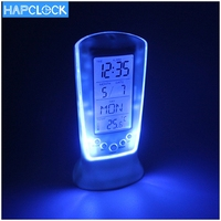 New Desk Design 510 Square Digital Clock With Backlight